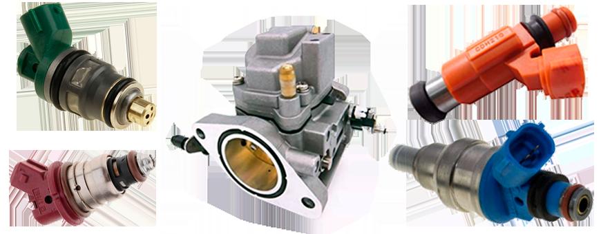 Inyectores y Carburadores